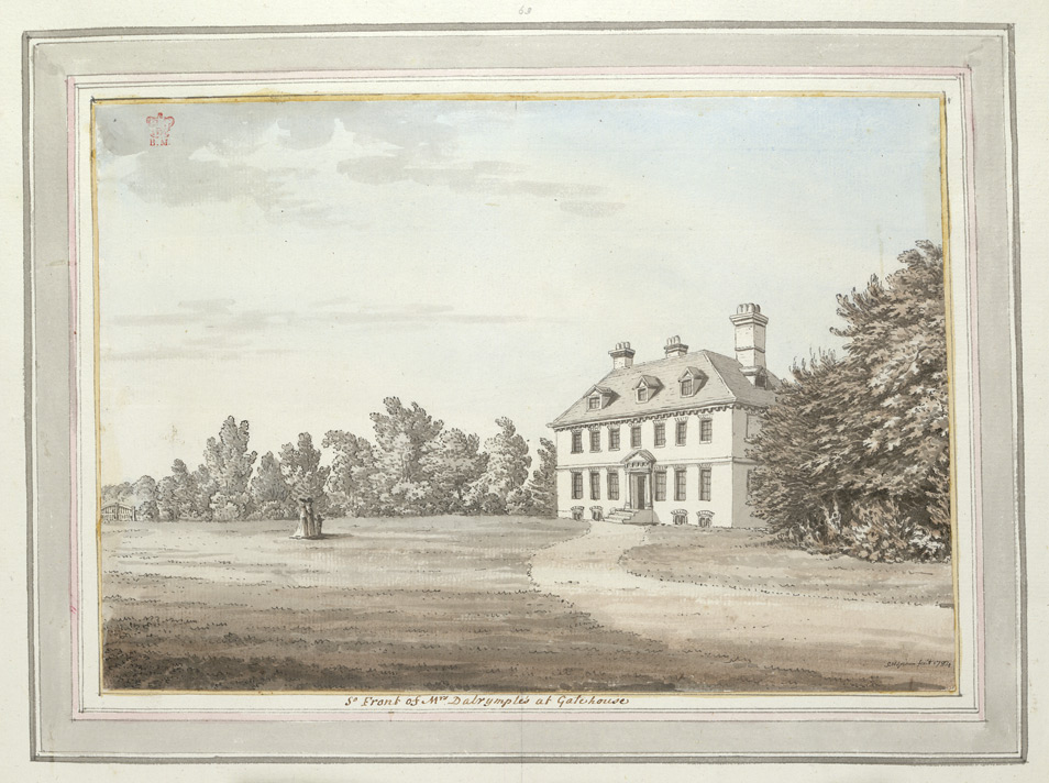 Mrs Dalrymples' House At Gatehouse